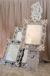 Easels, frames and framed mirrors